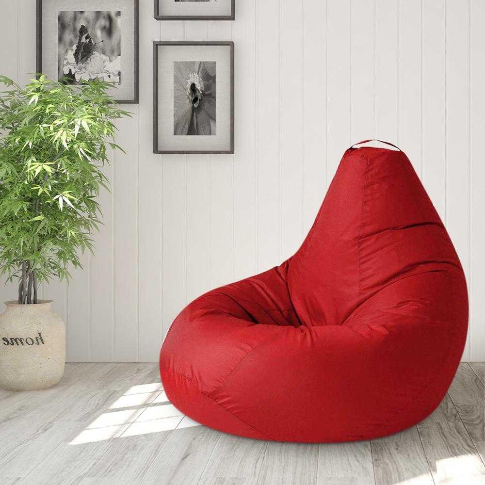 Кресло мешок в Минске: бюджетная мебель с именем