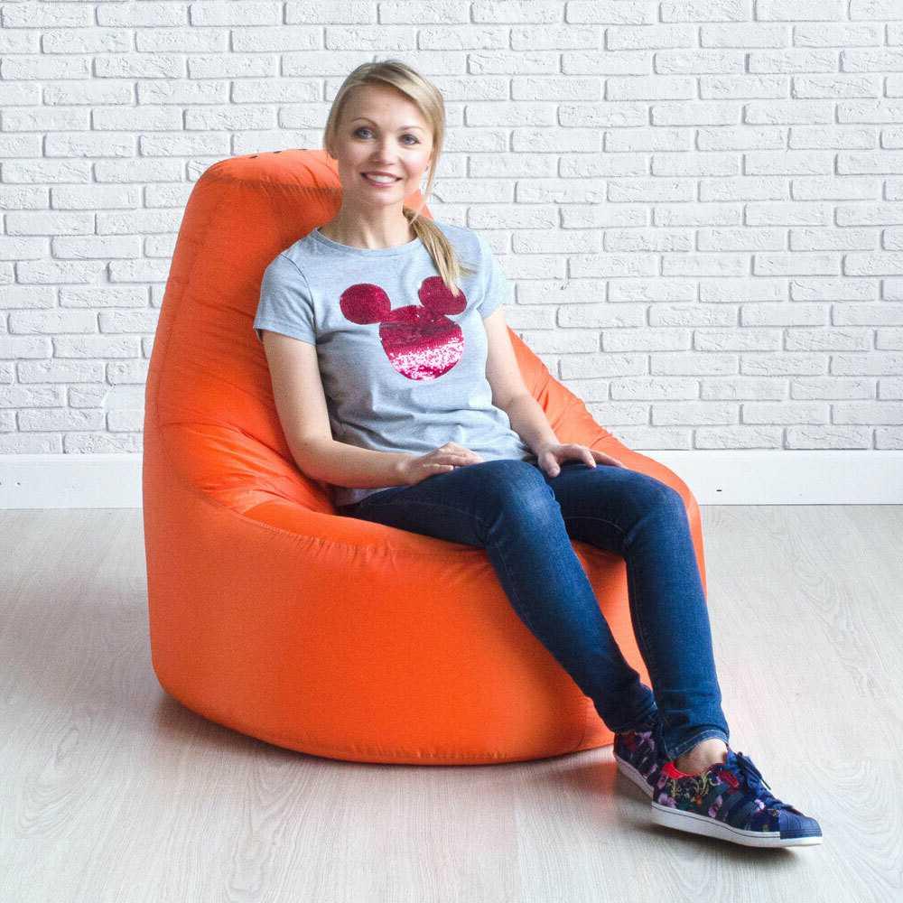 Кресло — мешок Zhirinovsky цв. Апельсин