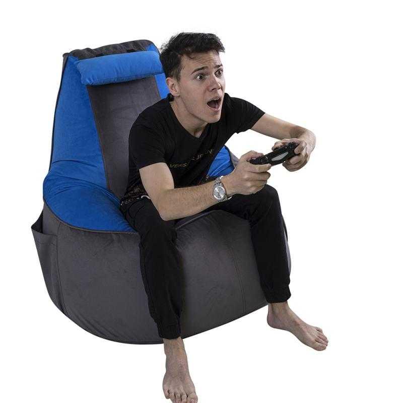 Кресло мешок: однотонное или с узором? Разберемся вместе